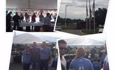 We Love St. Charles Event! Providing lunch to local first responders to show our appreciation.
