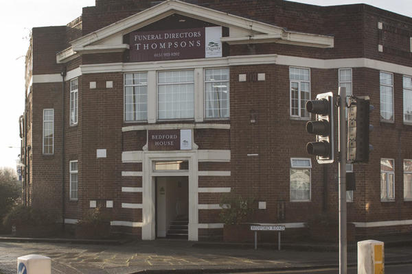 Thompsons Funeral Directors in Bootle, Liverpool