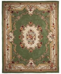 "Image of CLOSEOUT! KM Home Majesty Aubusson 7'6"" x 9'6"" Area Rug, Created for Macy's"