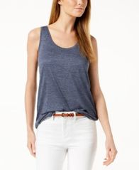 Image of Maison Jules Scoop-Neck Tank, Created for Macy's