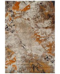 "Image of CLOSEOUT! Dalyn Modern Abstracts Terrene Tangerine 3'3"" x 5'1"" Area Rug"