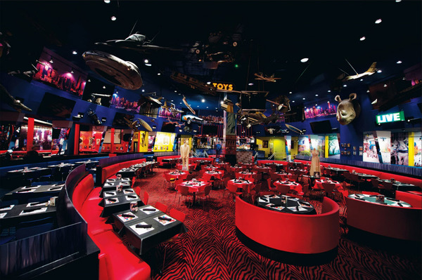 Unique Times Square Restaurant Venue Planet Hollywood