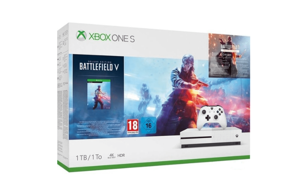 Console Xbox One S Microsoft 1To Battlefield V Edition Deluxe
