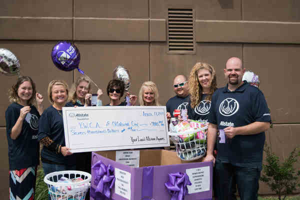 Micha Hughs - Allstate Foundation Helping Hands Grant for YWCA Oklahoma City