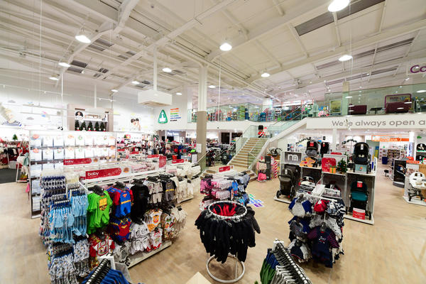 Mothercare Warrington store overview