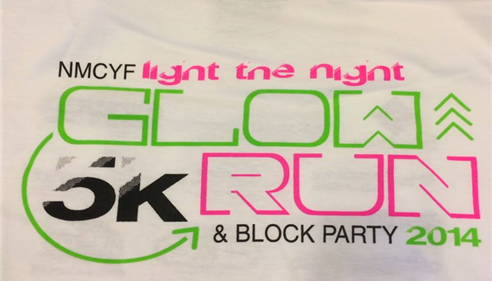 Proud Sponsor 2014 Glow Run.  Proceeds benefit NMCYF!