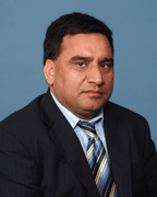 Javaid Akhtar, Insurance Agent