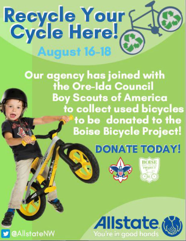 Jamie Rodriguez - We're Collecting Bikes!