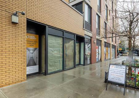Harlem storage facility exterior