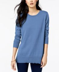 Image of Maison Jules Crew-Neck Sweater, Created for Macy's