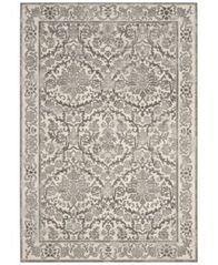 Image of CLOSEOUT! Safavieh Evoke EVK242D Ivory/Grey 3' x 5' Area Rug