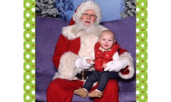Granddaughter first Christmas