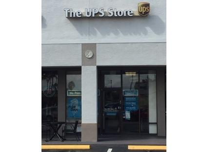Exterior storefront image of The UPS Store #520 in Davie, FL