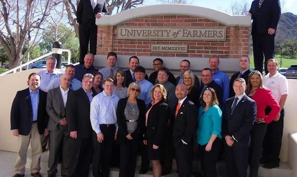 Agent attends University of Farmers!