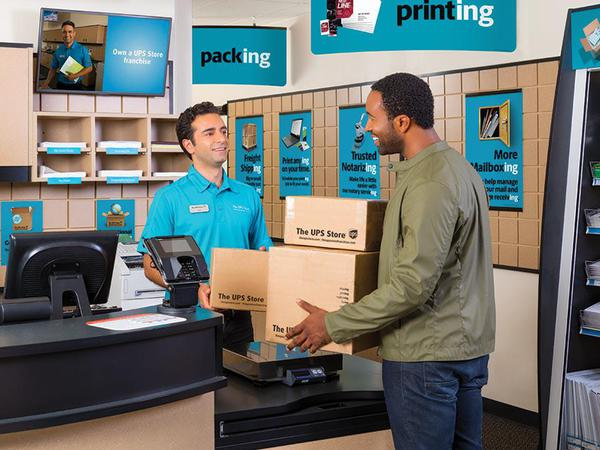 Shipping Packing From The Ups Store Shreveport La Located At 1651 E 70th St