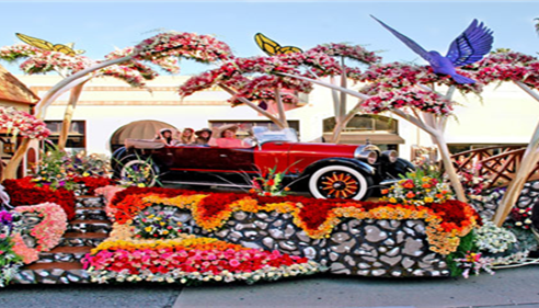 Farmers® Rose Parade Float