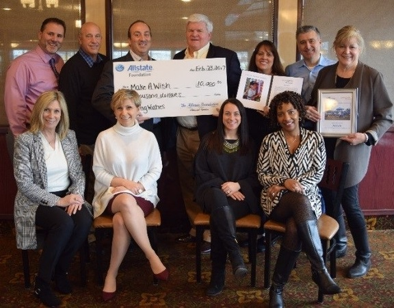 Paul T. Brzozowski - Allstate Foundation Helping Hands Grant for Make-A-Wish Metro New York