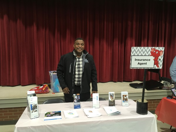 Namon Collins, Jr. - Career Day at Gainesville Exploration Academy