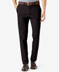 Image of Dockers Men's Stretch Clean Khaki Slim Tapered Fit Pants