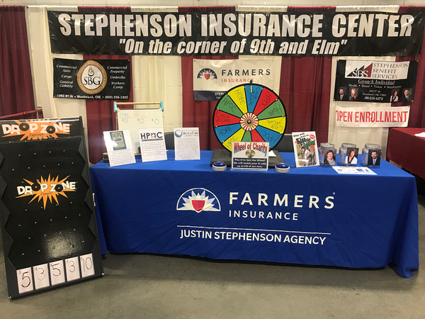 This is our booth at the recent Fall-A-Days Expo.   We raised over $1500 for local charities!