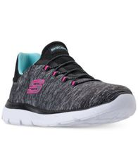 Image of Skechers Women's Summits - Quick Getaway Wide Width Walking Sneakers from Finish Line