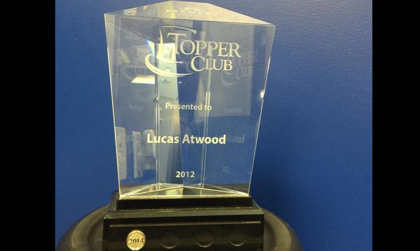 The Atwood Insurance Agency also has earned Toppers Club recognition multiple times.