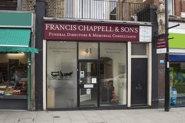 Francis Chappell & Sons Funeral Directors in Sydenham