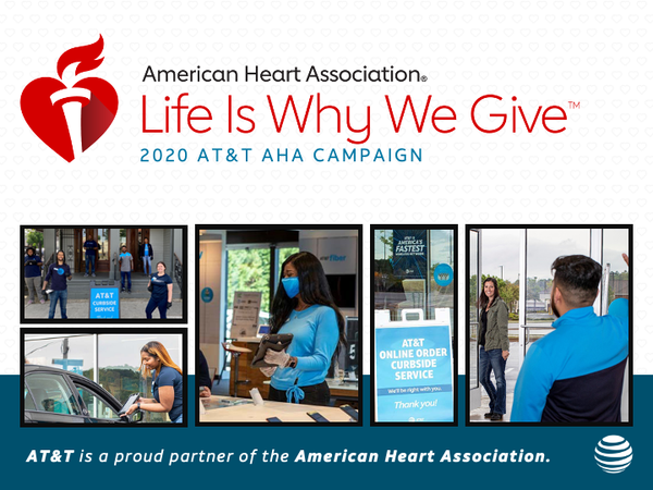 AT&T & American Heart Association in San Francisco