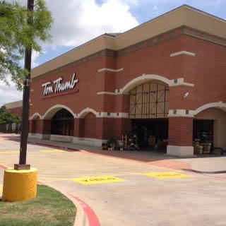 Tom Thumb Store Front Picture at 2301 Justin Rd in Flower Mound TX