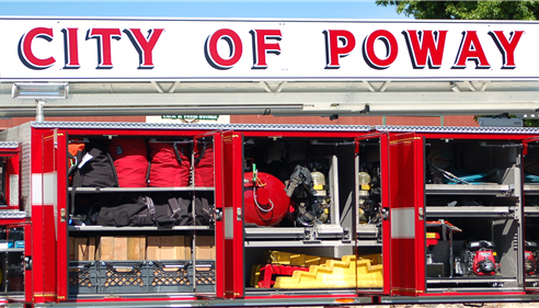 Thanks Poway Firefighters for all you do!