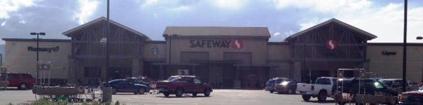 Safeway Store Front Photo at 1165 W Main St in Lader WY