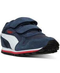 Image of Puma Little Boys' ST Runner Casual Sneakers from Finish Line