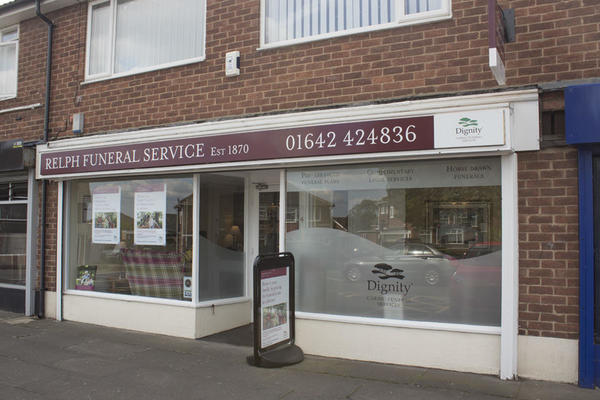 Relph Funeral Directors in Rimswell Road, Stockton On Tees