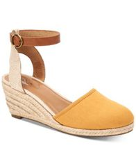 Image of Style & Co Mailena Wedge Espadrille Sandals, Created for Macy's