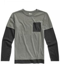 Image of Epic Threads Big Boys Layered-Look Pocket T-Shirt, Created for Macy's