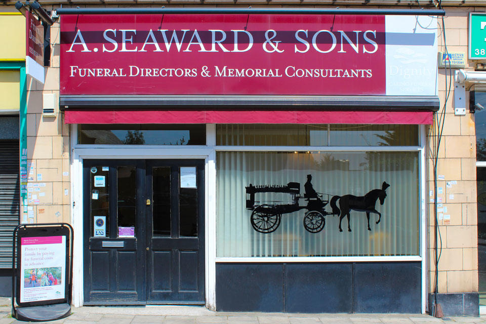 A Seaward & Sons Funeral Directors in Arnos Grove, New Southgate
