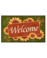 "Image of Nourison Sunflower Welcome 18"" x 30"" Accent Rug"