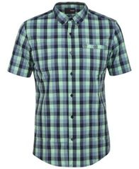 Image of Hurley Men's Vibes Plaid Pocket Shirt
