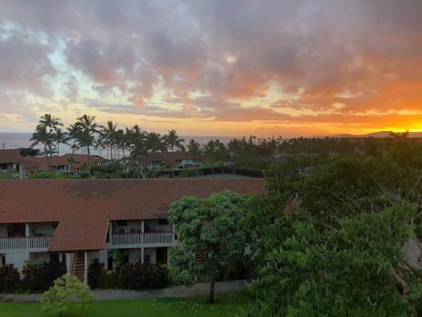 Morning sunrise in Kauai