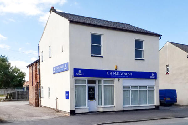 T. & M. E. Walsh Funeral Directors in Standish, Wigan.