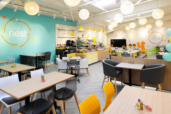 Mothercare Bromborough cafe nest