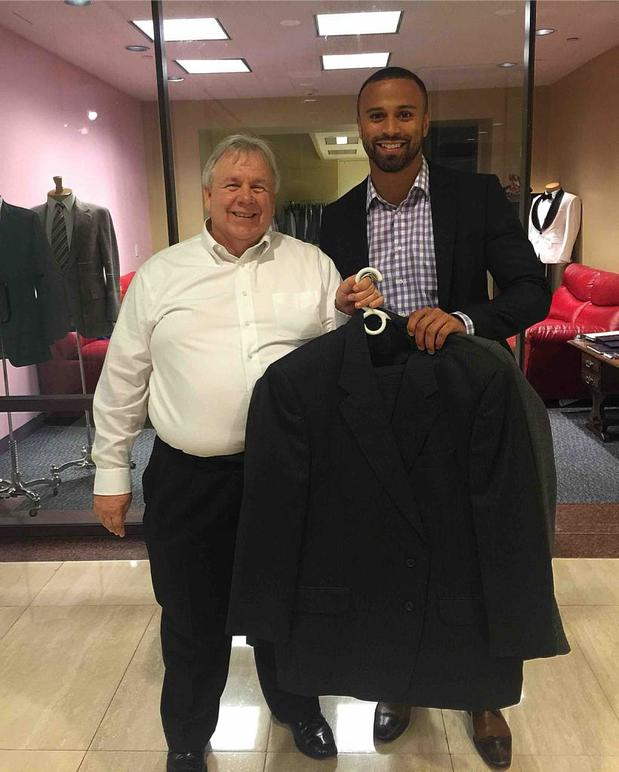 Donating my suits for young men in need of clothing for interviews.