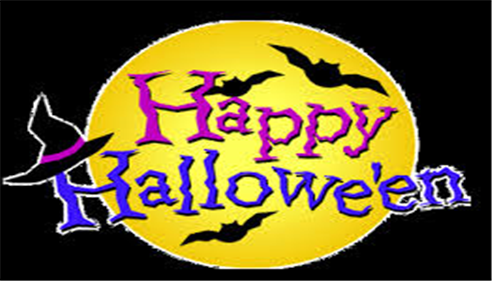 We wish you and your family an enjoyable and safe Halloween!