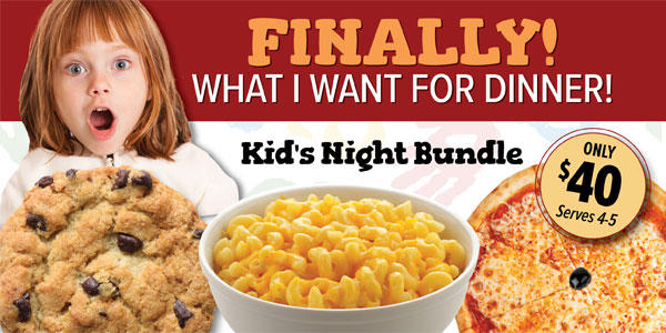 Bertucci's - Kids Night Bundle