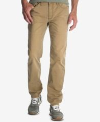 Image of Wrangler Men's Classic-Fit Tapered-Leg Stretch Twill Jeans