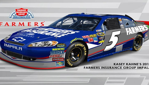 Our Official NASCAR driven by Kasey Kahne. Would you like to test drive this?