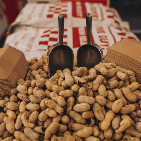 Free peanuts while you wait