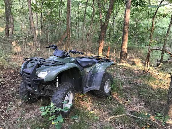 ATV in the forest