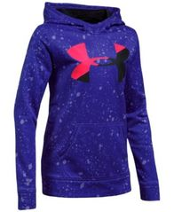 Image of Under Armour Armour® Fleece Pullover Hoodie, Big Girls