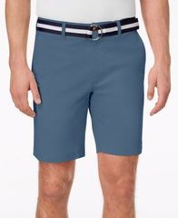 "Image of Club Room Men's 9"" Classic-Fit Stretch Shorts, Created for Macy's"